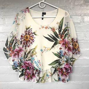 Milano floral blouse size M